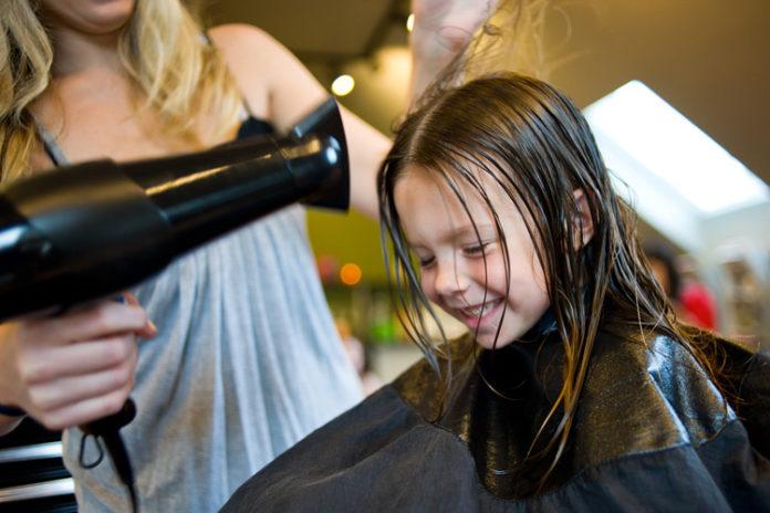Dicas de cabelo para crianças